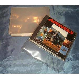 (サプライ) CDケース保護用 PP袋(透明)100枚セット (S5)|tokagey|02