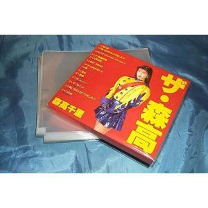 (サプライ) 厚みのあるCDケース保護用 PP袋(透明)100枚セット (S9)|tokagey|02