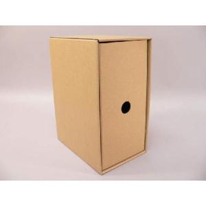 (サプライ) DVD収納ボックス/引き出し式段ボールBOX(クラフト/未組立)|tokagey