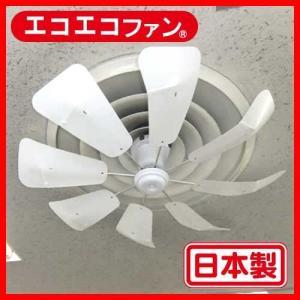 エコエコファン  TEA-201(丸型) エアコン風よけ&省エネ対策 天井埋込型エアコン用 アネモ用 トーカイデザイン 節電グッズ 空調効率UP シーリングファン|tokai-ds