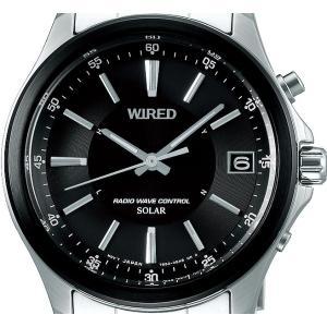 WIRED ワイアード AGAY012 ニュースタンダード NEW STANDARD ソーラー電波時計 メンズ 新品|tokei-akashiya