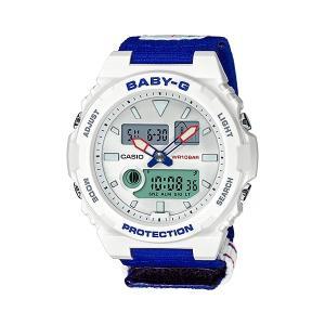 BABY-G ベビージー 25周年記念モデル BAX-125-2AJR G-LIDE レディースウオッチ 25th Anniversary Model 付け替え用樹脂バンド付き|tokei-akashiya