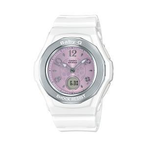 BABY-G ベビージー BGA-1050CD-7BJF 電波ソーラー WISHING CLOVER DIAL ウィッシング・クローバー・ダイアル レディース 女性向け腕時計 ホワイト tokei-akashiya