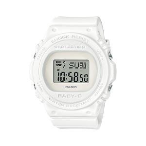 BABY-G ベビージー BGD-570-7JF レトロ・クラシック デジタル表示 レディース 腕時計 オールホワイト|tokei-akashiya