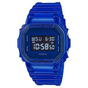 G-SHOCK ジーショック DW-5600SB-2JF スクエアフェイス Color Skeoton Series シースルー素材 ブルー 腕時計 CASIO カシオ|tokei-akashiya