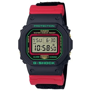 G-SHOCK ジーショック DW-5600THC-1JF スクエアフェイス Throwback 1990s クリスマスカラー メンズ 腕時計 CASIO カシオ|tokei-akashiya
