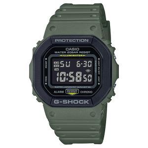 G-SHOCK ジーショック DW-5610SU-3JF スクエアフェイス Utility Color ブラック×ミリタリーグリーン 反転液晶 腕時計 CASIO カシオ|tokei-akashiya