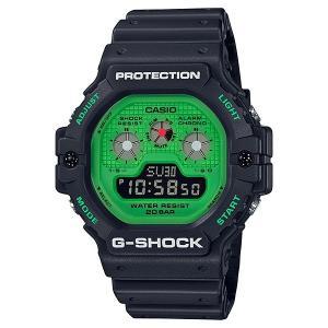 G-SHOCK ジーショック DW-5900RS-1JF Hot Rock Sounds ブラック×グリーン|tokei-akashiya