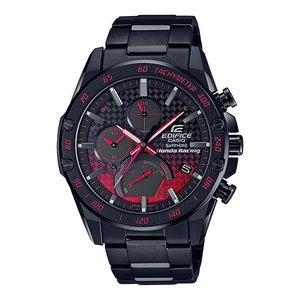 EDIFICE エディフィス EQB-1000HR-1AJR ホンダ レーシング リミテッドエディション スマートフォンリンク タフソーラー 腕時計 メタルバンド|tokei-akashiya