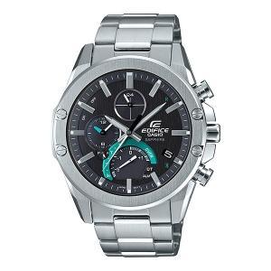 EDIFICE エディフィス EQB-1000YD-1AJF スリムライン Slim Line スマートフォンリンクモデル タフソーラー メンズ腕時計 メタルバンド|tokei-akashiya