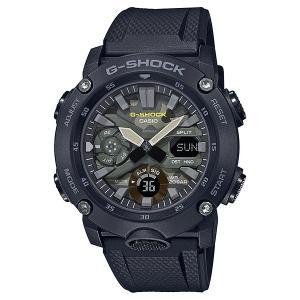 G-SHOCK ジーショック GA-2000SU-1AJF カーボンコアガード Utility Color ブラック カモフラージュ柄文字板 腕時計 CASIO カシオ|tokei-akashiya