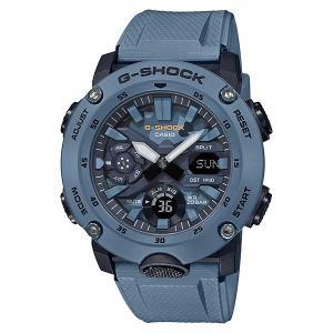 G-SHOCK ジーショック GA-2000SU-2AJF カーボンコアガード Utility Color ブルー カモフラージュ柄文字板 腕時計 CASIO カシオ|tokei-akashiya