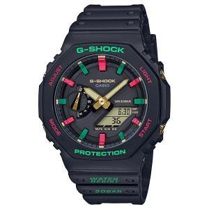 G-SHOCK ジーショック GA-2100TH-1AJF カーボンコアガード構造 Throwback 1990s クリスマスカラー 男性用 メンズ 腕時計 CASIO カシオ|tokei-akashiya