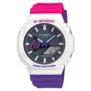 G-SHOCK ジーショック GA-2100THB-7AJF カーボンコアガード構造 Throwback 1990s 男性用 メンズ 腕時計 CASIO カシオ|tokei-akashiya