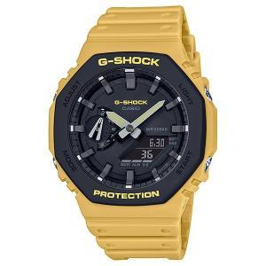 G-SHOCK ジーショック GA-2110SU-9AJF カーボンコアガード構造 ブラック×イエロー 腕時計 CASIO カシオ tokei-akashiya