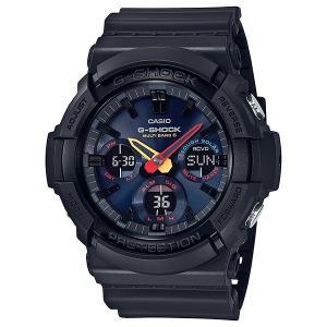 G-SHOCK ジーショック GAW-100BMC-1AJF 電波ソーラー Black×Neon アナログ×デジタル表示 メンズ 腕時計|tokei-akashiya