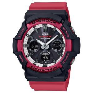 G-SHOCK ジーショック GAW-100RB-1AJF レッド×ブラック×ホワイト 電波ソーラー アナログ×デジタル表示 腕時計|tokei-akashiya
