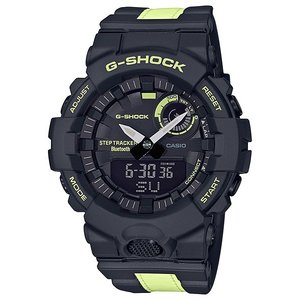 G-SHOCK ジーショック GBA-800LU-1A1JF ジー・スクワット G-SQUAD リフレクター付き スマートフォン連携 Bluetooth通信 CASIO カシオ|tokei-akashiya