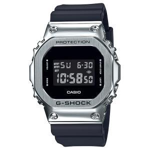 G-SHOCK ジーショック GM-5600-1JF スクエアデザイン ベゼルカバーステンレス素材 反転液晶 腕時計 CASIO カシオ tokei-akashiya
