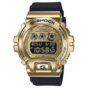 G-SHOCK ジーショック GM-6900G-9JF 三つ目モデル メタルベゼル ゴールド×ブラック 反転液晶 腕時計 CASIO カシオ|tokei-akashiya