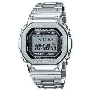 G-SHOCK GMW-B5000D-1JF フルメタルケース シルバー 電波ソーラー Bluetooth対応 スマートフォンリンク機能搭載 メタルバンド メンズ 腕時計|tokei-akashiya