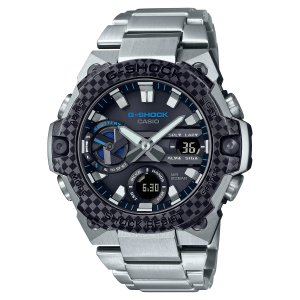 G-SHOCK ジーショック GST-B400XD-1A2JF カーボンベゼル G-STEEL カーボンコアガード構造 メタルバンド ソーラー 腕時計 CASIO カシオ|tokei-akashiya