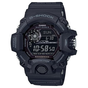 G-SHOCK ジーショック GW-9400J-1BJF マスターオブG レンジマン MASTER OF G RANGEMAN BLACK OUT ソーラー電波時計 腕時計 CASIO カシオ|tokei-akashiya