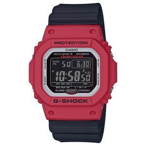 G-SHOCK ジーショック GW-M5610RB-4JF レッド×ブラック×ホワイト 電波ソーラー デジタル表示 腕時計|tokei-akashiya