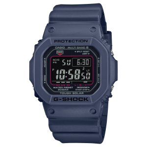 G-SHOCK ジーショック GW-M5610U-2JF 電波ソーラー デジタル表示 フルオートLEDライト ウレタンバンド ネイビー 腕時計 CASIO カシオ|tokei-akashiya