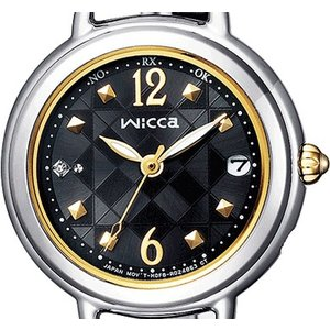 wicca ウィッカ KL0-910-51 ソーラーテック電波時計 ブレスライン HAPPY DIARY 有村架純|tokei-akashiya