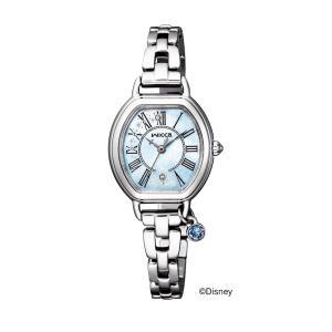 wicca ウィッカ KP2-515-71 ディズニー シンデレラ 限定モデル ソーラーテック腕時計 レディース 女性用|tokei-akashiya