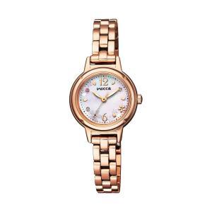 wicca ウィッカ KP3-619-95 有村架純着用 wicca 20th Anniversary 限定モデル ソーラーテック 腕時計 レディース 女性用 替えバンド付き|tokei-akashiya