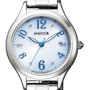 wicca ウィッカ KS1-210-91 有村架純 広告宣伝サブマスコミモデル ソーラーテック電波時計 HAPPY DIARY レディース腕時計 ダイヤ入り|tokei-akashiya