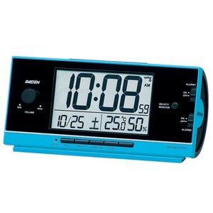 SEIKO セイコークロック NR534L デジタル電波目覚まし時計 RAIDEN ライデン 圧倒的大音量アラーム 電池付き|tokei-akashiya