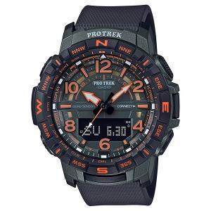 PRO TREK プロトレック PRT-B50FE-3JR スマートフォンリンク機能搭載 腕時計 Bluetooth 付け替え用クロスバンド付き CASIO カシオ|tokei-akashiya