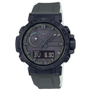 PRO TREK プロトレック PRW-60ECA-1AJR 電波ソーラー ELNEST CREATIVE ACTIVITYコラボモデル 交換用クロスバンド付き CASIO カシオ 腕時計|tokei-akashiya