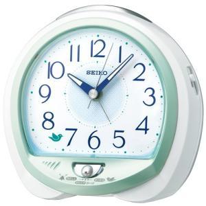 SEIKO セイコークロック QM745M 目覚まし時計 鳥の鳴き声 ネイチャーサウンド音源 電池付き|tokei-akashiya