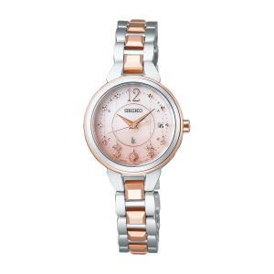 SEIKO セイコー LUKIA ルキア SSVW186 ソーラー電波時計 2020 クリスマス限定モデル 女性用腕時計 tokei-akashiya