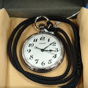 セイコー 鉄道時計 SVBR003 ひも付き|tokei-akashiya