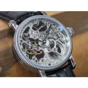 アルカフトゥーラ 298SKBK ARCA FUTURA 手巻き式時計 スケルトンウオッチ 正規販売店|tokei10