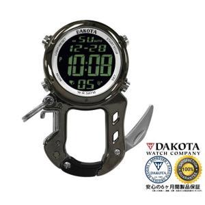 DAKOTA ダコタ デジクリップ クリップウオッチ 3097-2 正規品 アウトドア用時計|tokei10