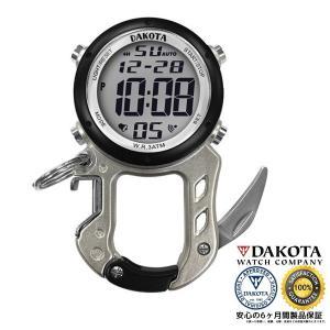 DAKOTA ダコタ デジクリップ クリップウオッチ 3098-1 正規品 アウトドア用時計|tokei10