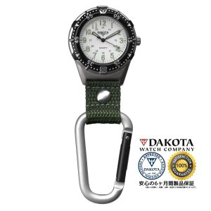 DAKOTA ダコタ アルミニウムバックパッカー クリップウオッチ 3868-5 正規品 アウトドア用時計|tokei10