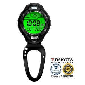 DAKOTA ダコタ 紫外線センサー/温度計 クリップウオッチ 7544-8 正規品 アウトドア用時計|tokei10