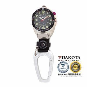 DAKOTA ダコタ ビッグフェイス クリップウオッチ 8852-2 正規品 アウトドア用時計|tokei10