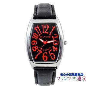 フランク三浦 FM00K-RD 零号機(改) 黒・赤 送料無料 安心の正規販売店|tokei10