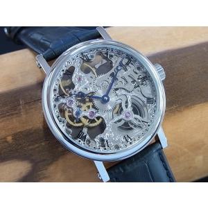 アルカフトゥーラ P0110201BK ARCA FUTURA 手巻き式時計 スケルトンウオッチ 正規販売店|tokei10