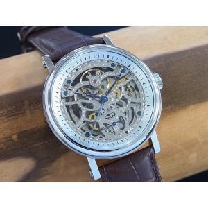 アルカフトゥーラ P0110301BR ARCA FUTURA 自動巻き式時計 スケルトンウオッチ 正規販売店|tokei10