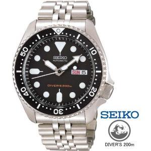 SEIKO セイコーダイバーズウオッチ SKX007K2 セイコー海外モデル ブラックボーイ|tokei10