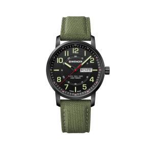 cf845ae630 正規品 WENGER ウェンガー 01.1541.104 アティテュード デイデイト 腕時計